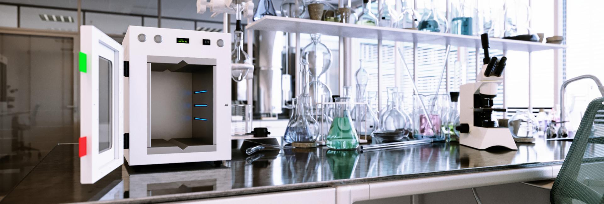 UV-C desinfectie in Laboratoria